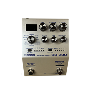 Boss DD200 guitar pedal