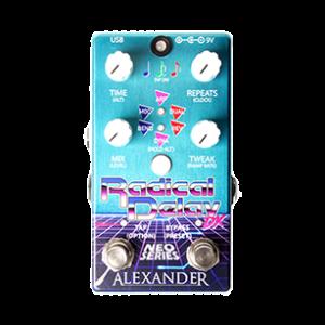 Alexander Pedals Radical Delay guitar pedal