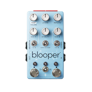 blooper guitar pedal demo