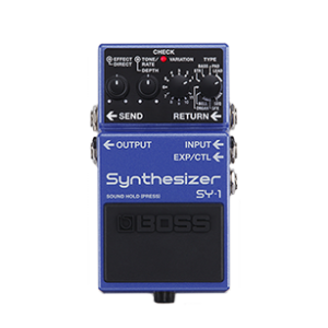 boss sy-1 guitar pedal