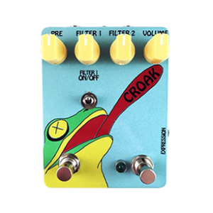 croak guitar pedal