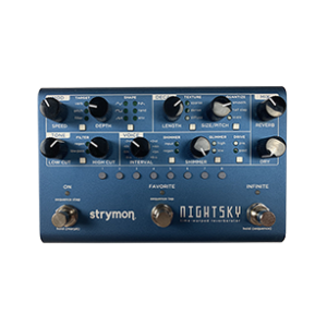 Strymon night sky guitar pedal