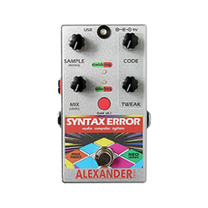 syntax error guitar pedal