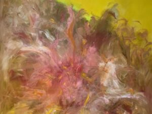 Abstract painting by Anne Sulikowski