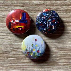 original art buttons